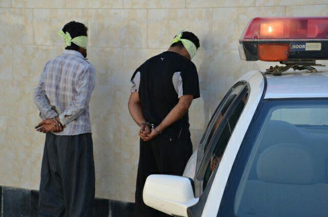سارقان به عنف طلا وجواهرات منزل در تور عملیاتی پلیس بوشهر