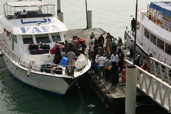 ورود مسافر نوروزی به جزیره خارگ ممنوع شد