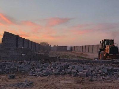 ۲۱۶ ساخت و ساز غیرمجاز در گورکات تخریب شد