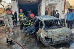 یک کشته در آتش سوزی تعویض روغنی در بوشهر