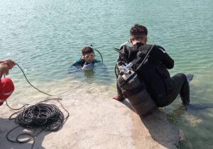 غرق شدن جوان خورموجی در آبگرم میر احمد