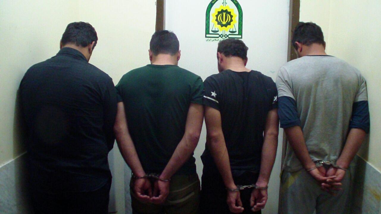 ۸۱ محکوم تحت تعقیب در دام پلیس بوشهر