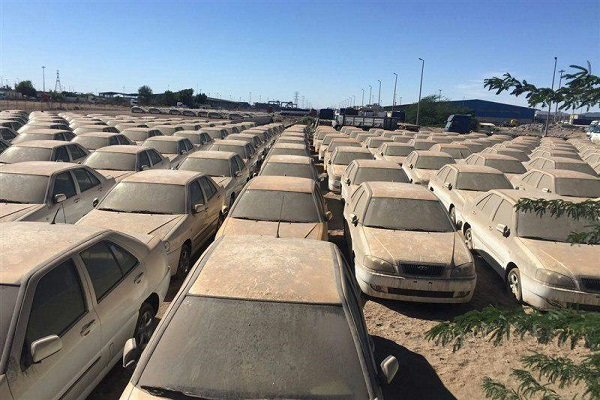 تصمیم سازمان بازرسی برای خودروی های توقیفی در بوشهر