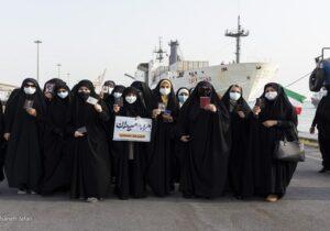 حماسه حضور بوشهریها در کرانه خلیجفارس+عکس