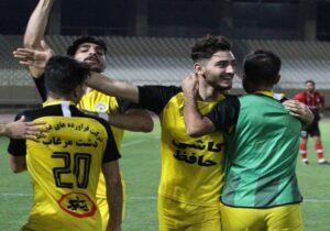 صعود فجر سپاسی به لیگ برتر بعد از۸ سال/شکست شاهین و تساوی پارس جم در ایستگاه پایانی